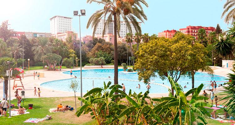 Piscina Parque de Benicalap, Valencia