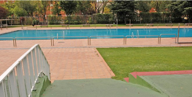 Piscina Municipal Moratalaz, Madrid