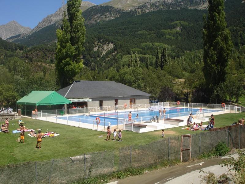 Piscina Municipal de Sallent de Gállego, Huesca
