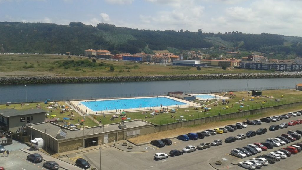 Piscinas de agua de mar, San Esteban, Asturias
